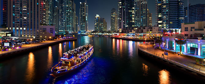 Enjoy the Best of Dubai Sunset Cruise